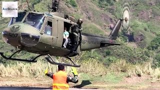 Philippine Air Force Huey Helicopter | AiirSource
