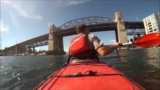 Kayak in False Creek