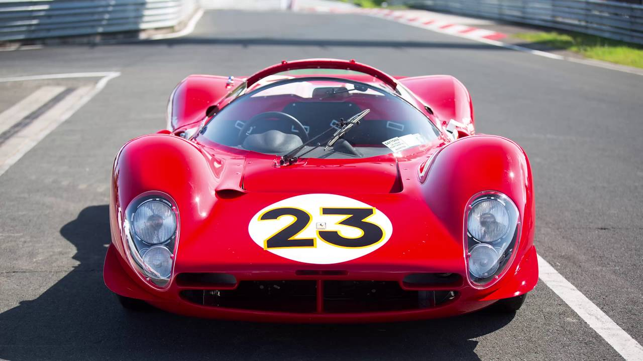 Ferrari 330 P4 >> Ferrari P3/4 chassis 0846 runs the Nurburgring without ...