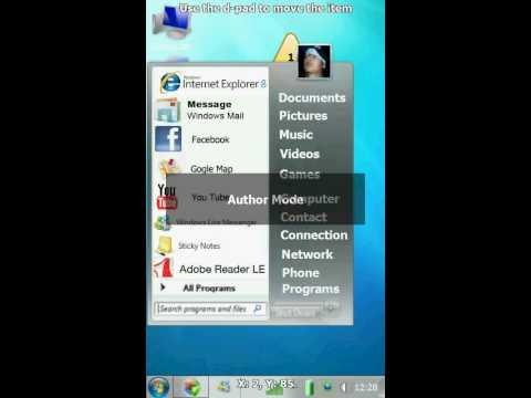 Installing Windows 7 theme on Toshiba TG01 (Windows Mobile 6.5)