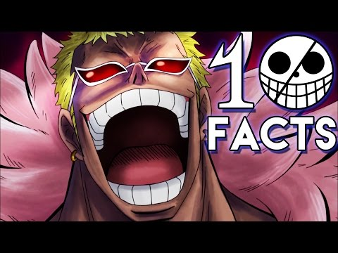 10 Things You Probably Didn't Know About Donquixote Doflamingo  | One Piece | The Week Of 10's #6