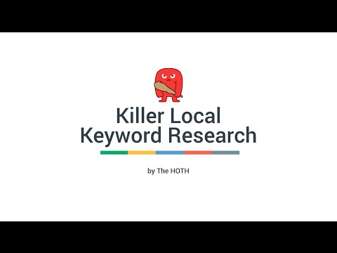 Easy Local SEO Keyword Research Tutorial