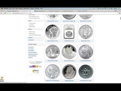 Time to buy some Silver or Gold with Bit Coin from JM BULLION in 2017