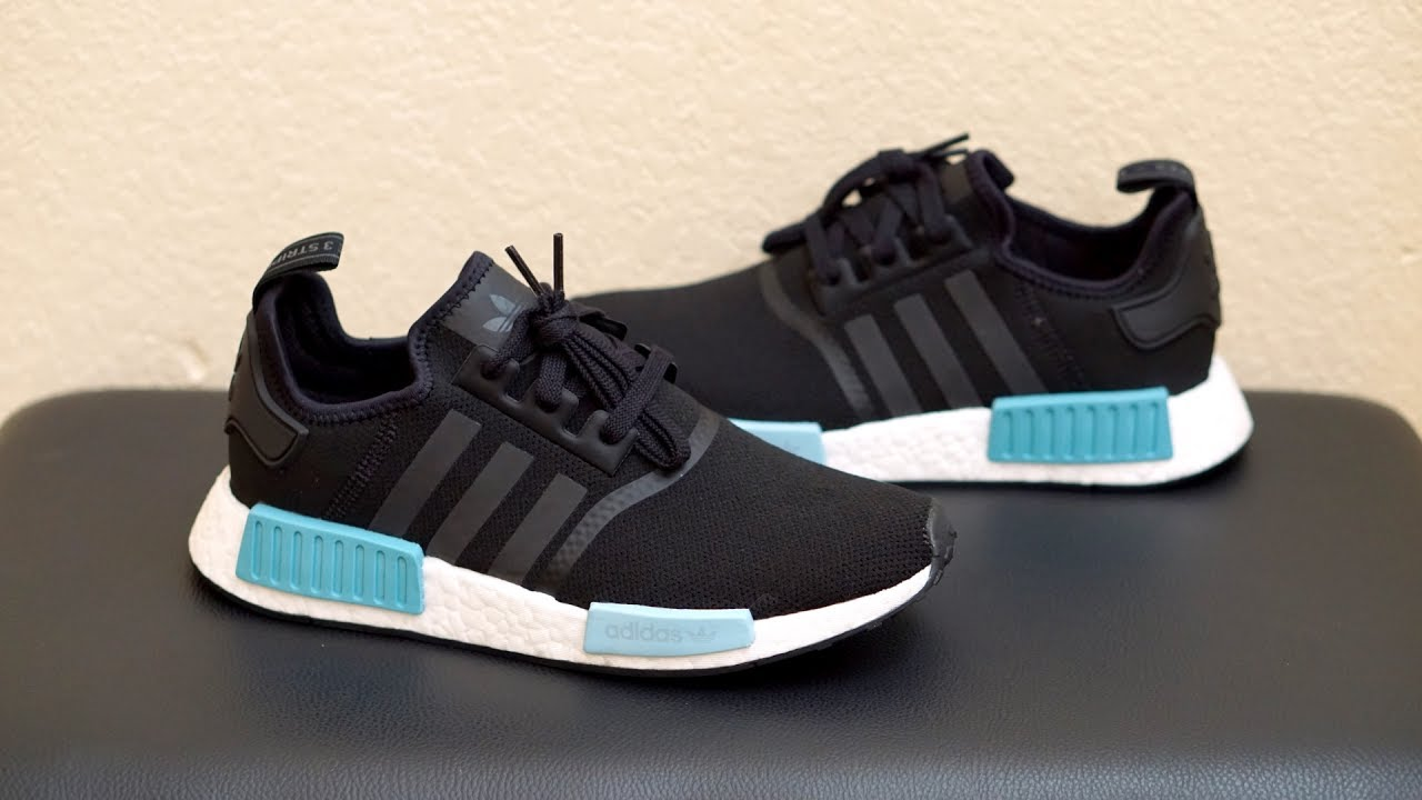 Review Adidas Nmd R1 Icey Blue By9951 Youtube
