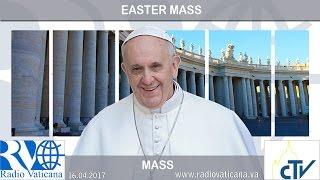 """Vatican 2017: Lễ Phục Sinh, Thông điệp Phục Sinh và Phép lành """"Urbi et Orbi"""""""