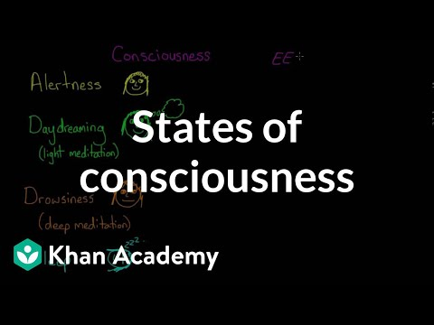 States of consciousness | Processing the Environment | MCAT | Khan Academy