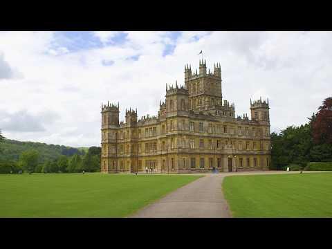 Buchtrailer// Downton Abbey zu Gast in Highclere Castle