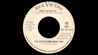 Rose Valentine - I