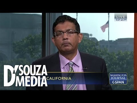 "Watch D'Souza embarrass liberal caller on C-SPAN: ""First of all…"""