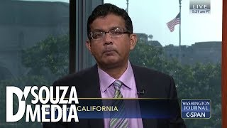 "Watch D'Souza embarrass liberal caller on C-SPAN: ""First of all…"""