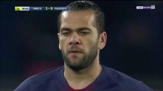 Dani Alves vs Toulouse Home HD 1080p (24/11/2018)