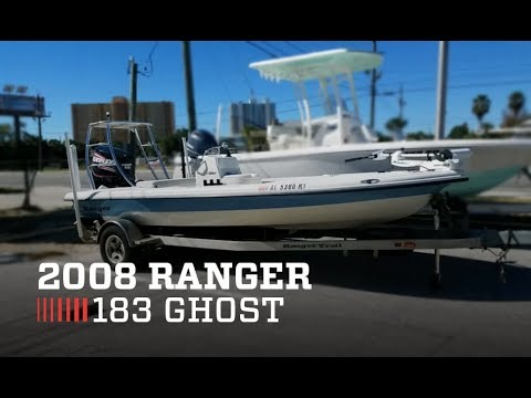 2008 Ranger 183 Ghost For Sale by MarineMax Panama City