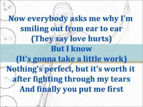 Love On Top - Beyonce Knowles (Instrumental/Karaoke with Lyrics on Screen) [LEGIT]