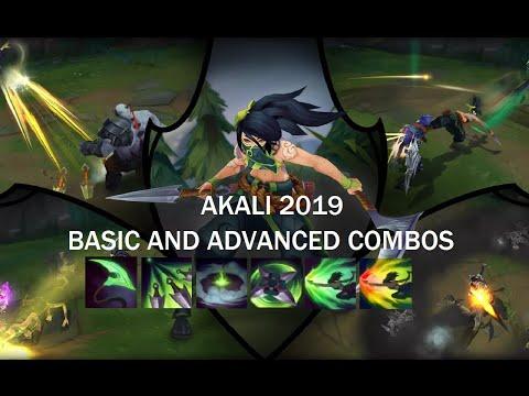 AKALI BASIC/ADVANCED COMBOS - 2019