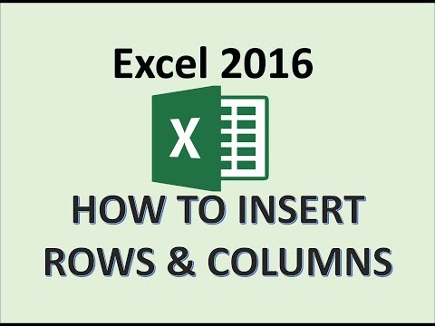 excel-2016---insert-rows-&-columns---how-to-add-a-row-and-column-in-ms---sheet-cells-on-worksheet