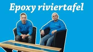 Riviertafel maken met Epoxy Resin van Polyestershoppen
