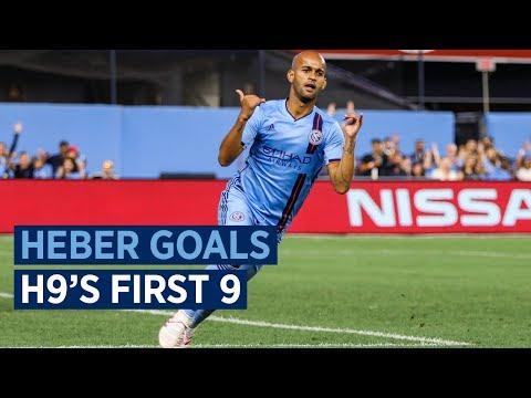 Héber's First 9 Goals At NYCFC