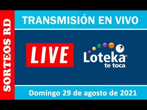 Loteka En Vivo 🎰 │ Domingo 29 De Agosto – 7:55 PM