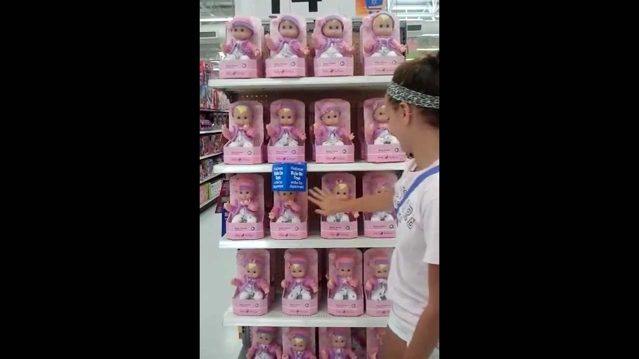 Creepy Motion Detector Baby Dolls At Walmart Youtube