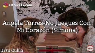 Karaoke No Juegues Con Mi Corazón-Simona (Angela Torres)