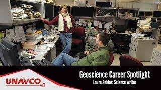 Geoscience Career Spotlight: Laura Snider, Science Writer