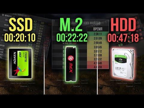 M2 Vs SSD Vs HDD   Сравнение в тестах M.2, SSD и HDD - игры, программы, виртуализация, рендеринг