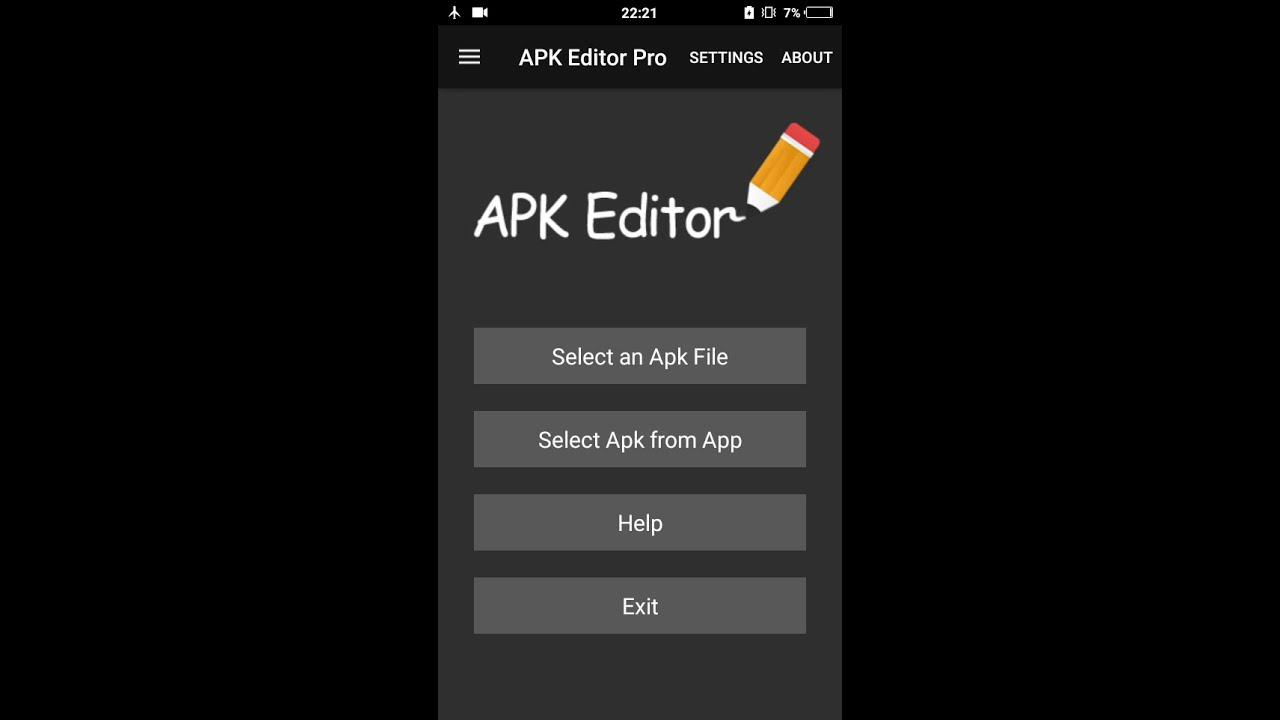 приложение apk editor pro
