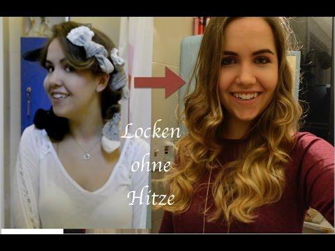 Locken OHNE Hitze mit SOCKEN  YouTube