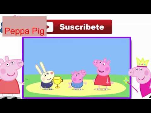 Peppa pig en espa ol carrera en la escuela la for En youtube peppa pig