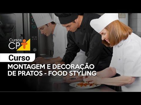 Clique e veja o vídeo Curso Montagem e Decoração de Pratos - Food Styling
