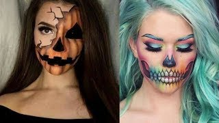 NEW!!! Extreme Halloween Makeup Tutorials Compilation #1