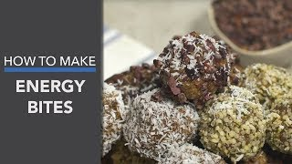 No-Bake Vegan Energy Bites Recipe