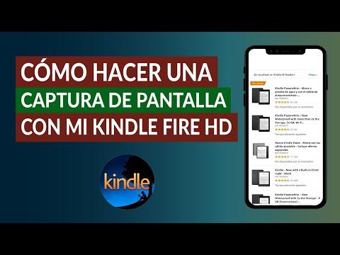 Cómo Tomar o Hacer una Captura de Pantalla con mi Kindle Fire HD