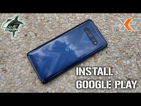 [Tutorial] How to Install Google Play Store to your Black Shark 4 and Black Shark 4 Pro.