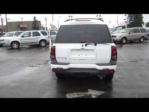 2005 Chevrolet TrailBlazer, White - STOCK# 11237