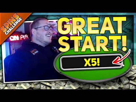 OFF TO A GREAT START!! PartyPoker Spins Challenge
