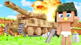 ⚠ Ребенок Попал в Армию Для Детей ! Кто Твой Папочка в Майнкрафте | Мир и Дети Minecraft Kids