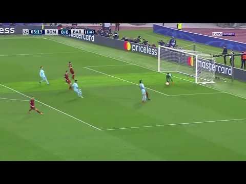 AS ROME 3 0 BARCELONE   1 4 de finale retour Ligue des Champions   2017 2018  BEINSPORTS