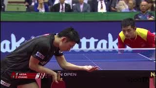 Ueda Jin vs Zhang Jike [ Japan Open 2018 ] R8
