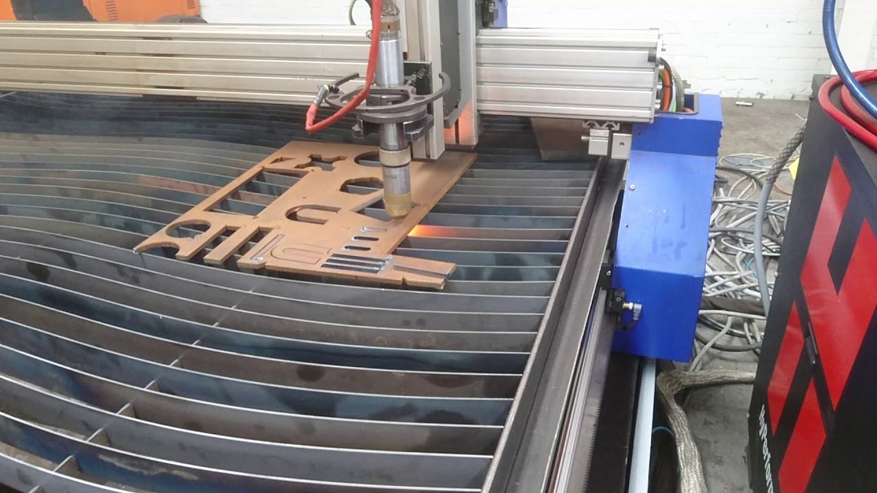 Messer Griesheim Metalmaster Cnc Plasma Cut Test With Hypertherm