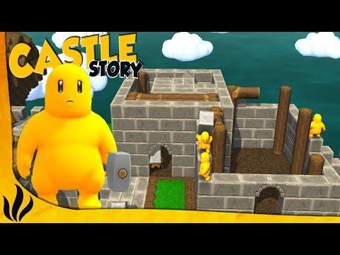 ON DEMARRE UN PROJET DE CONSTRUCTION ! (Castle Story 1/3)