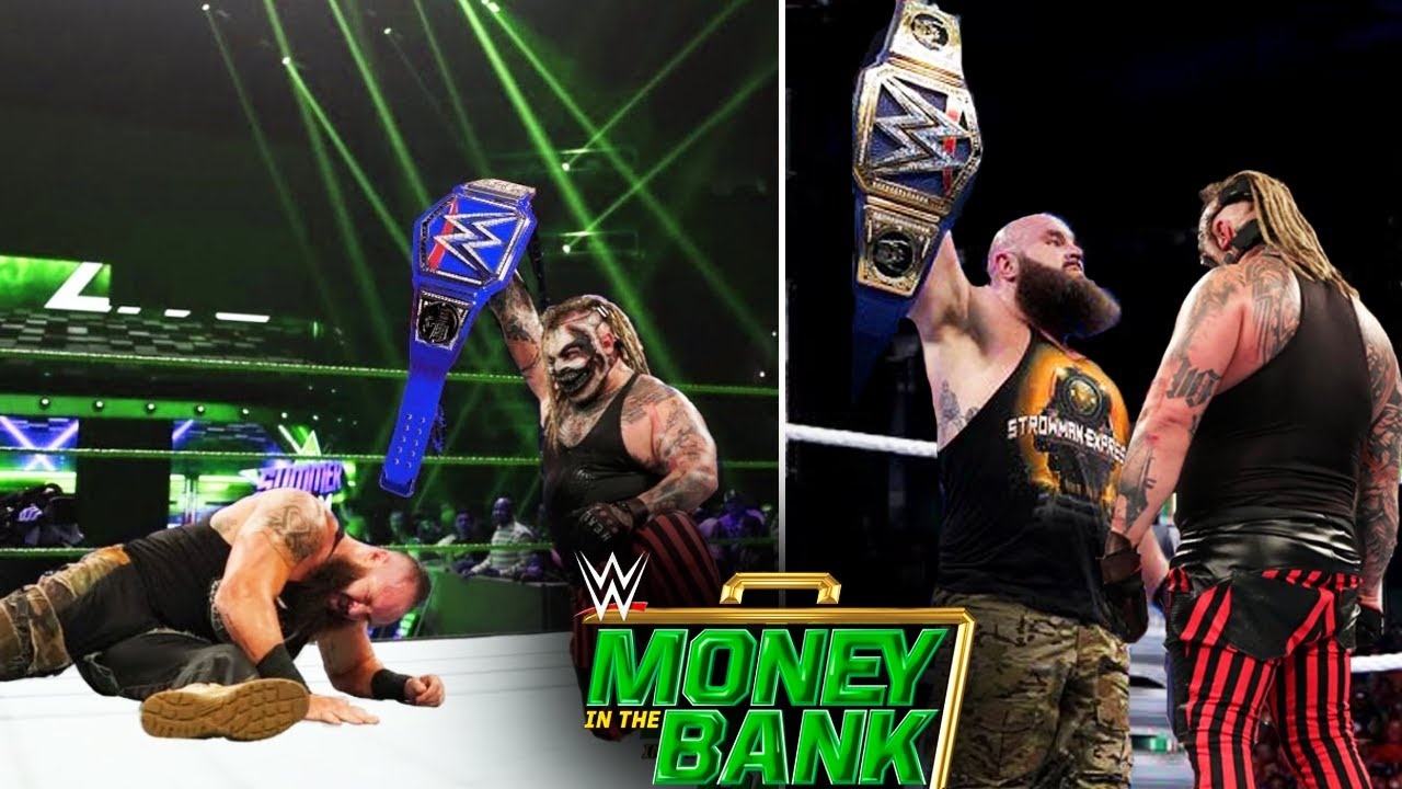 The Fiend Bray Wyatt WINS Universal Title At Money In The Bank 2020 - THE FIEND VS BRAUN STROWMAN