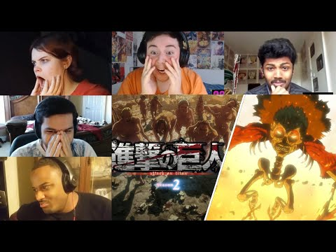 Attack On Titan :Shingeki No Kyojin Season 2 Episode 4 Reaction