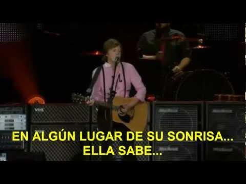 Paul McCartney- Something (Subtitulada Español) (Zócalo México: 2012)