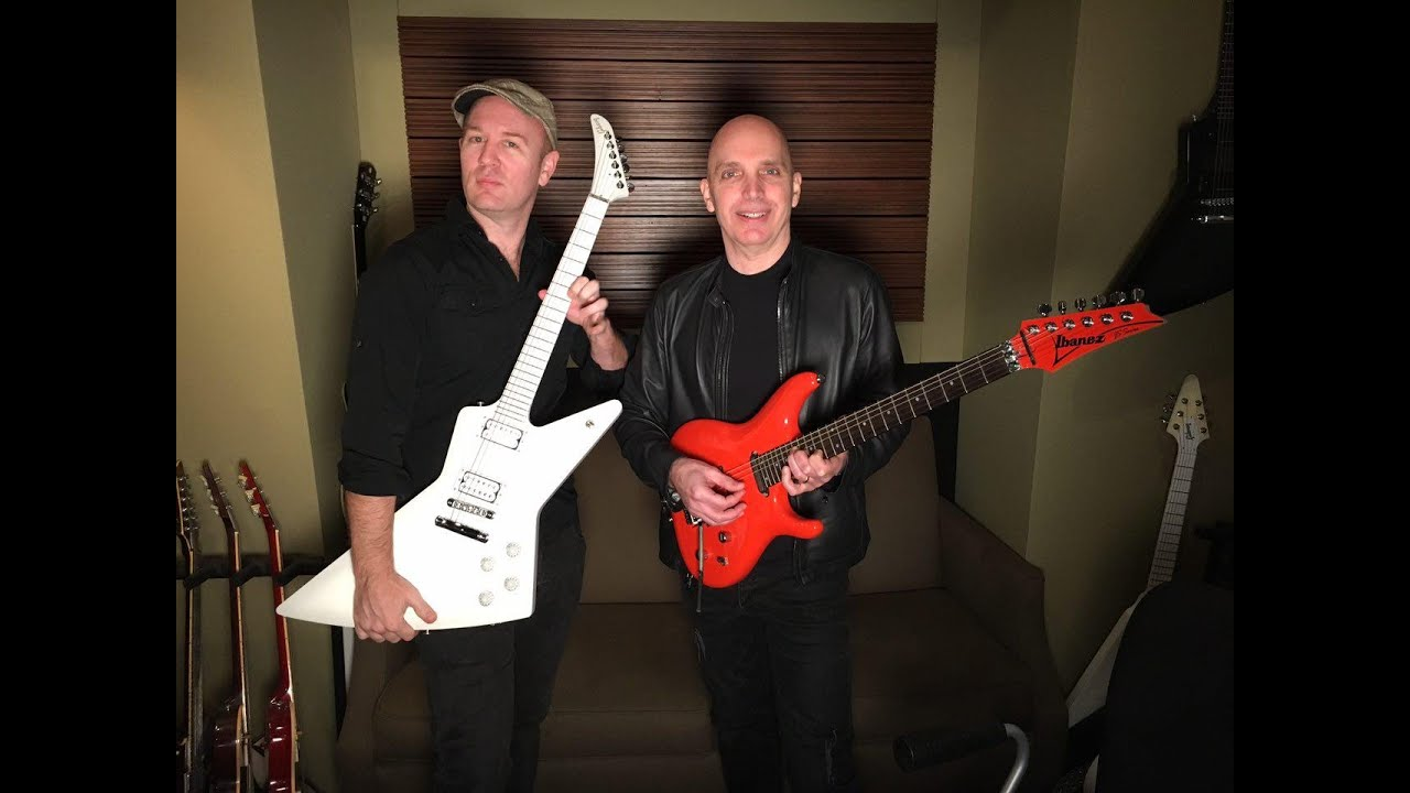 Joe Satriani Amp Brendon Small Dethklok Metalocalypse