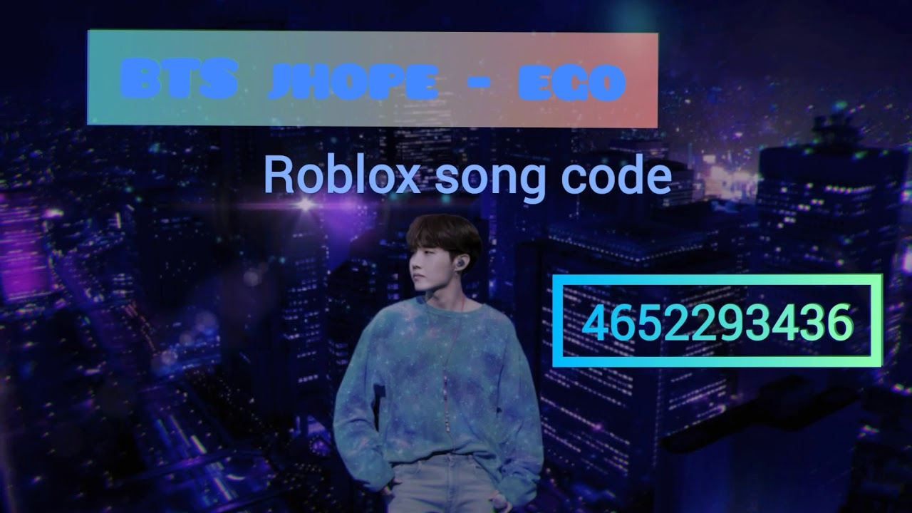 Bts Jhope Ego Roblox Song Code Working Youtube