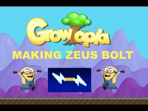 Growtopia Making Zeus Bolt Youtube