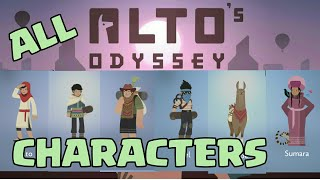 All Characters Gameplay in Alto's Odyssey | My Favourite One ???