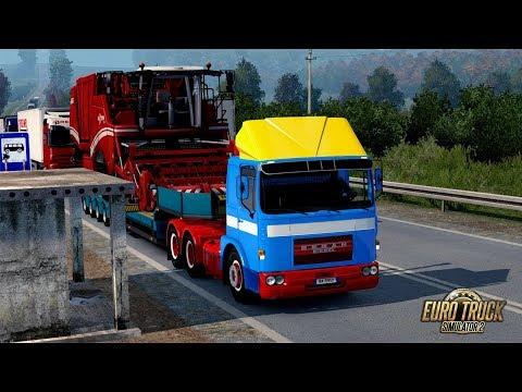 ETS2 1.30 The Moscow Region Roman Diesel Klishino - Mendyukino