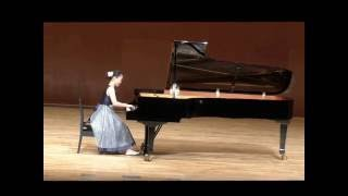 ショパン スケルツォ 第1番、松下日花里(中2、14歳)の演奏です。 201...